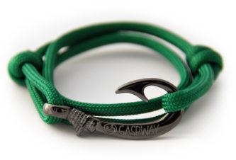 braccialetto-amo-da-pesca-bottle-green-amo-canna-di-fucile