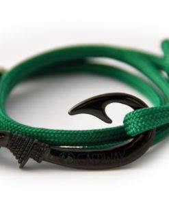 braccialetto-amo-da-pesca-bottle-green-amo-nero