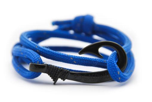 braccialetto-amo-da-pesca-electric-blue-line-amo-nero