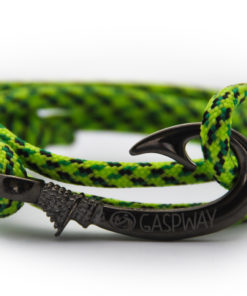 braccialetto-amo-da-pesca-fluor-green-snake-amo-canna-di-fucile