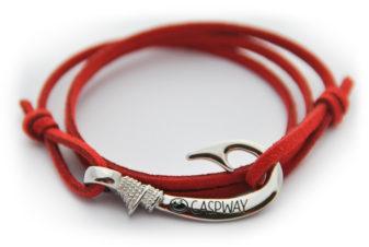 braccialetto-amo-da-pesca-rosso-amo-acciaio