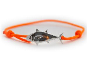 braccialetto tonno arancione