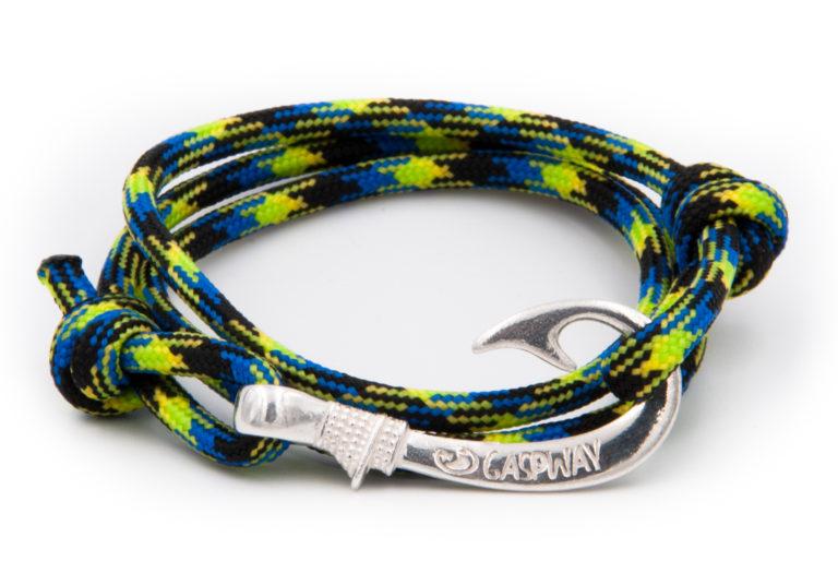 braccialetto gaspway amo da pesca aquatica amo argento