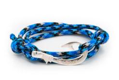braccialetto amo da pesca gaspway ocean camo amo argento