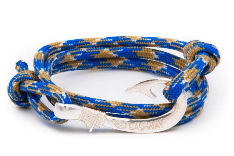 braccialetto amo da pesca gaspway void amo argento